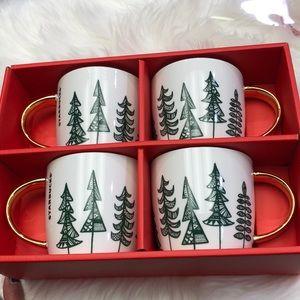Starbucks 4 piece Mug set